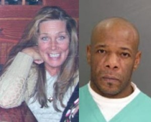 A family photo of Diane Corado and a mugshot of Kenneth Patterson. Credit: Contributed