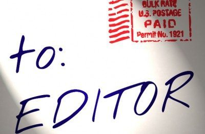 Letters to the Editor for August 26
