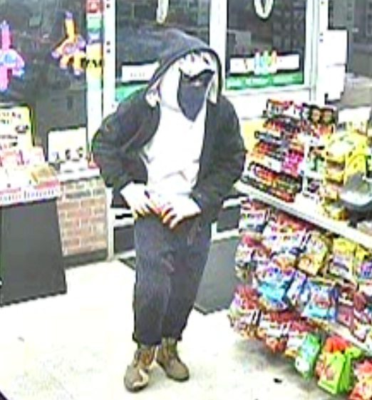 Man Robs Store at Gunpoint & Steals Clerk's Car