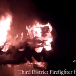 MUST SEE: Helmet Cam Footage Shows Firefighters Battling Levittown Blaze