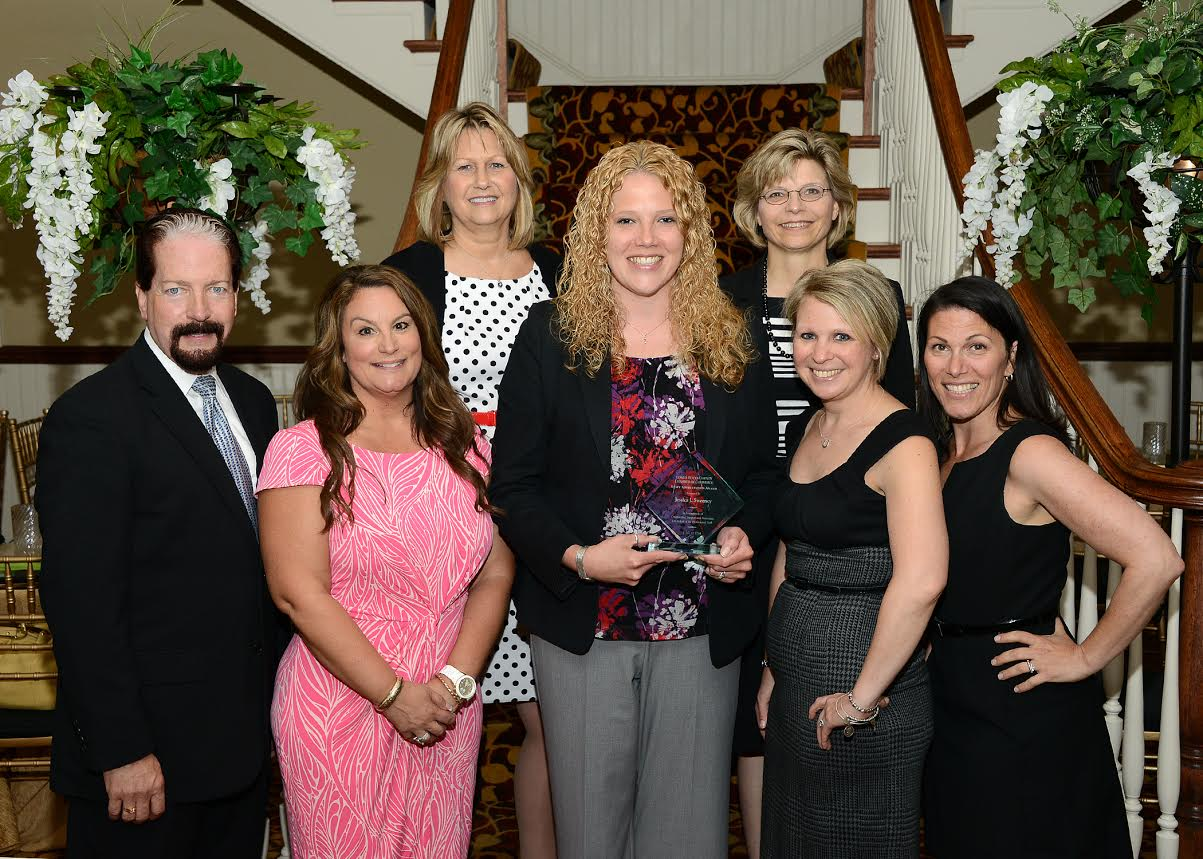 Lower Bucks County Chamber of Commerce Gives Award to Volunteer