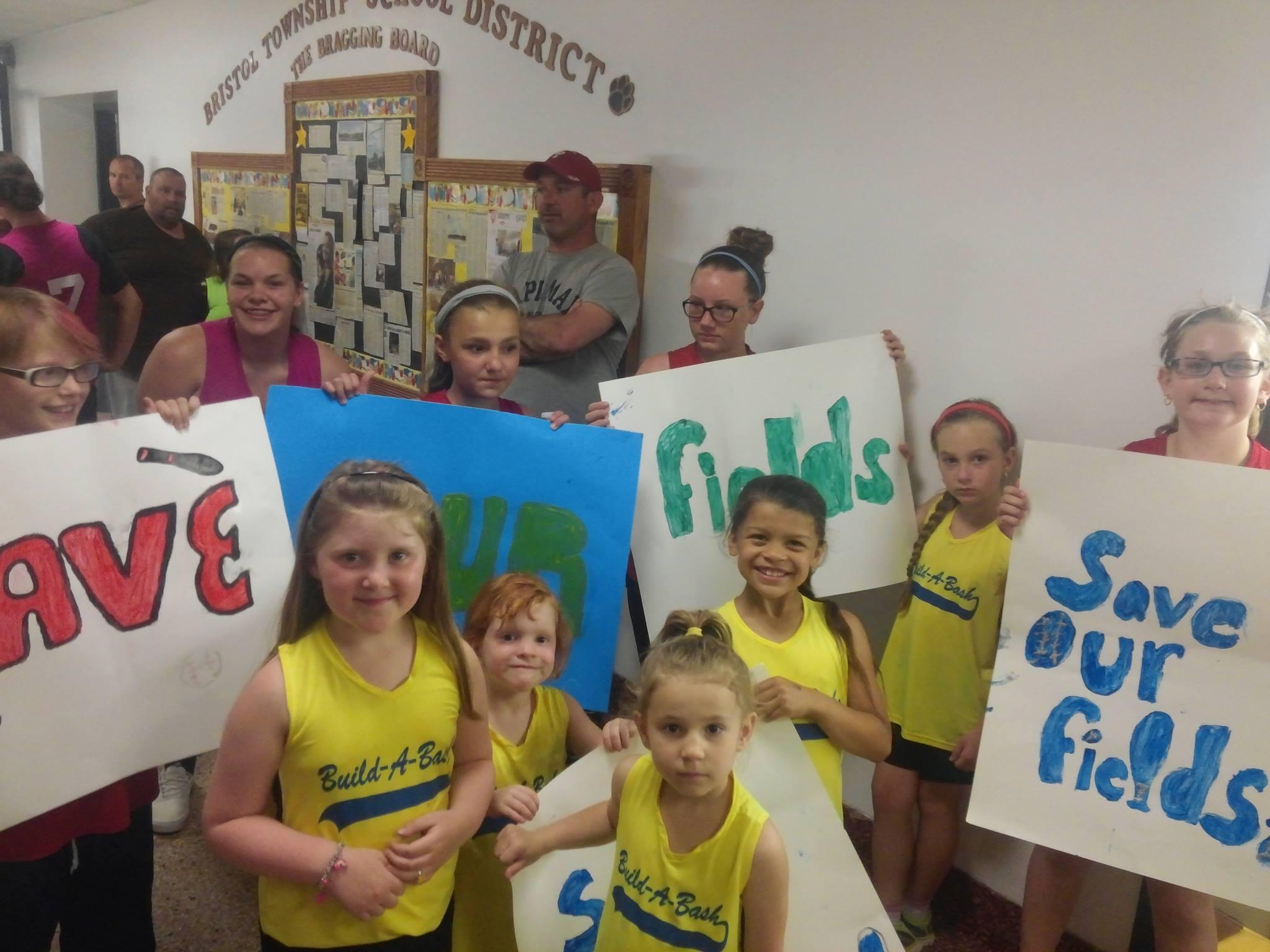 Bristol Twp. Girls Softball League Rallies For Fields