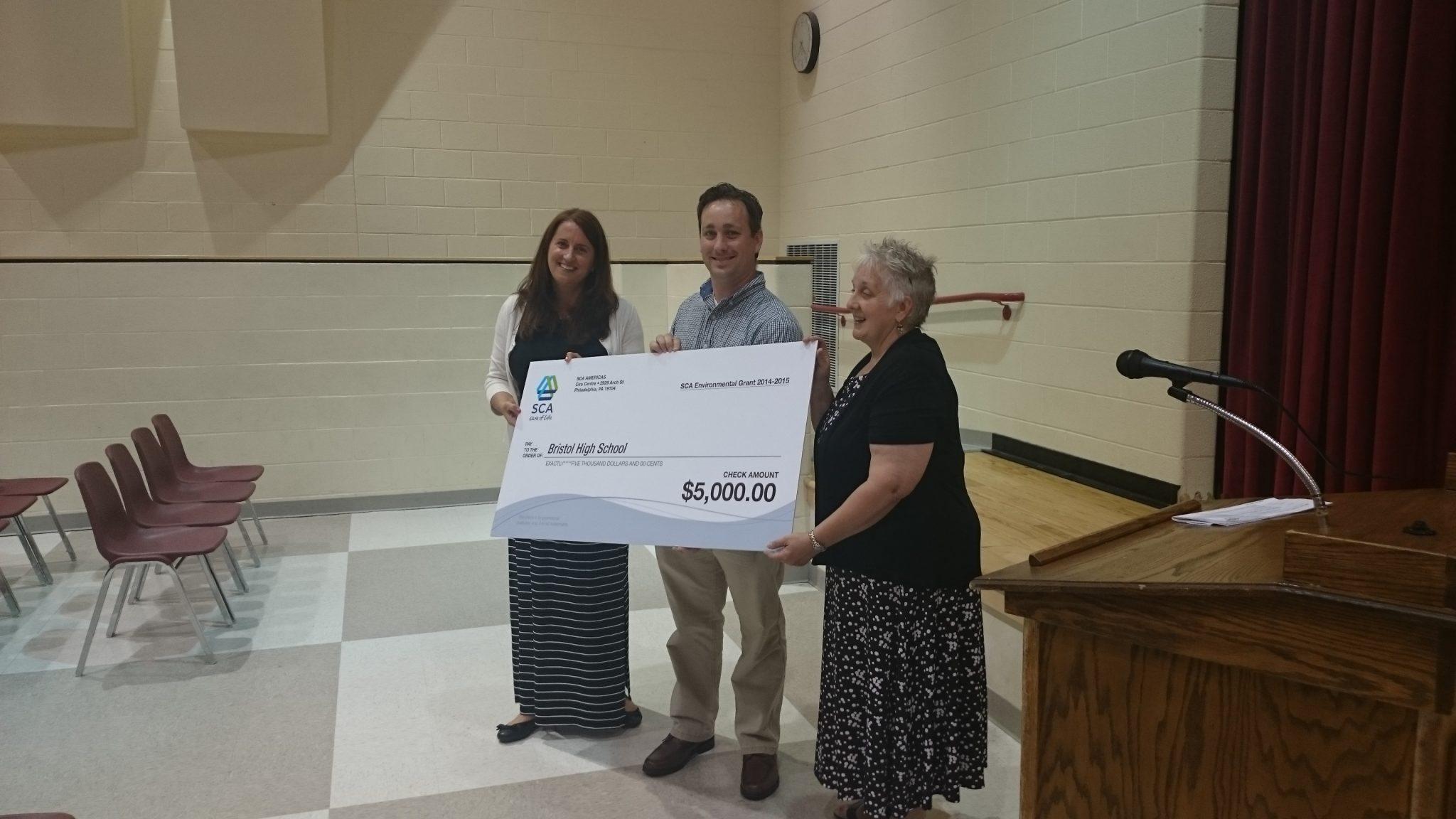 Bristol Club Gets $5,000 Grant