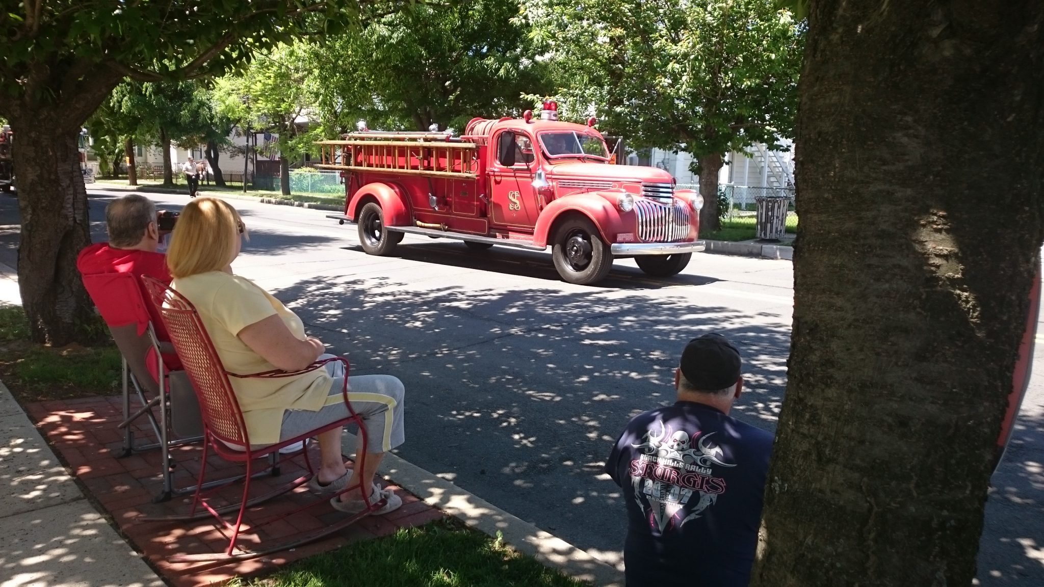 Tullytown Residents Show Support For Memorial Day Parade