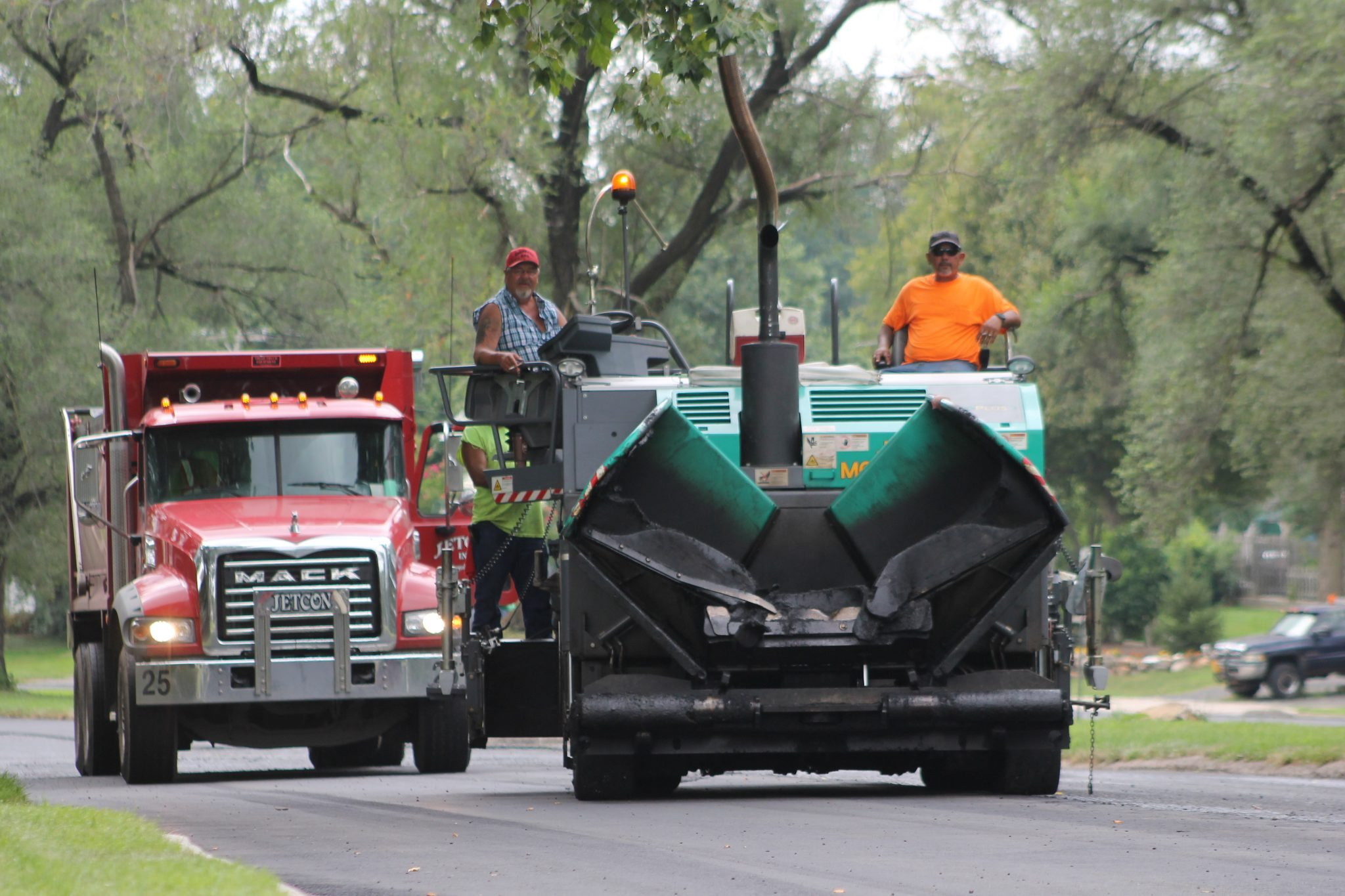 Bristol Twp. Road Paving Work Continues