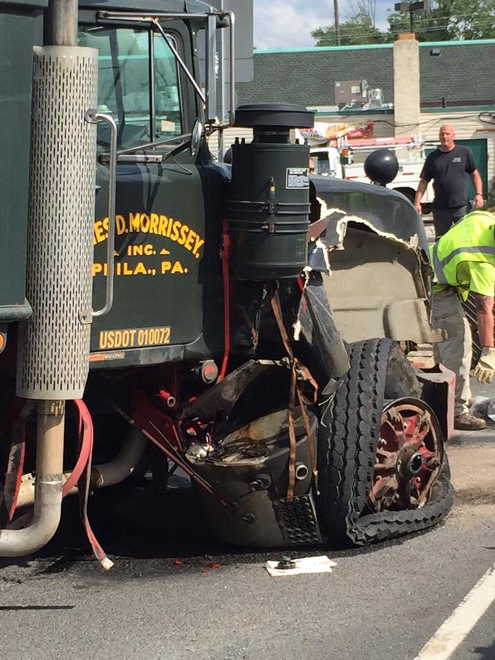 UPDATED: Dump Truck Avoids Crashing Through Shopping Center