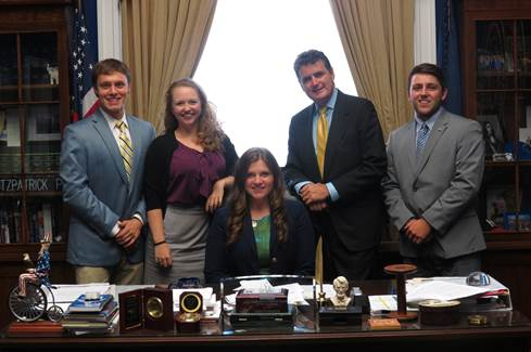 Congressman Fitzpatrick Seeks College Interns For Fall