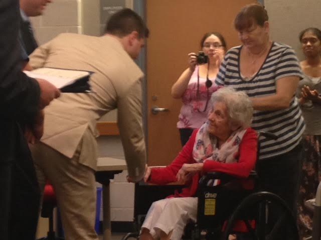 Middletown Board Honors World War II Vets