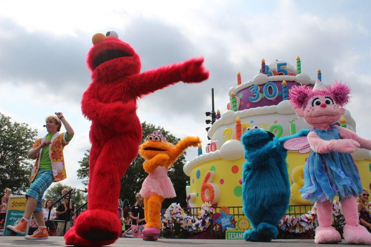 Sesame Place Celebrates 35th Birthday