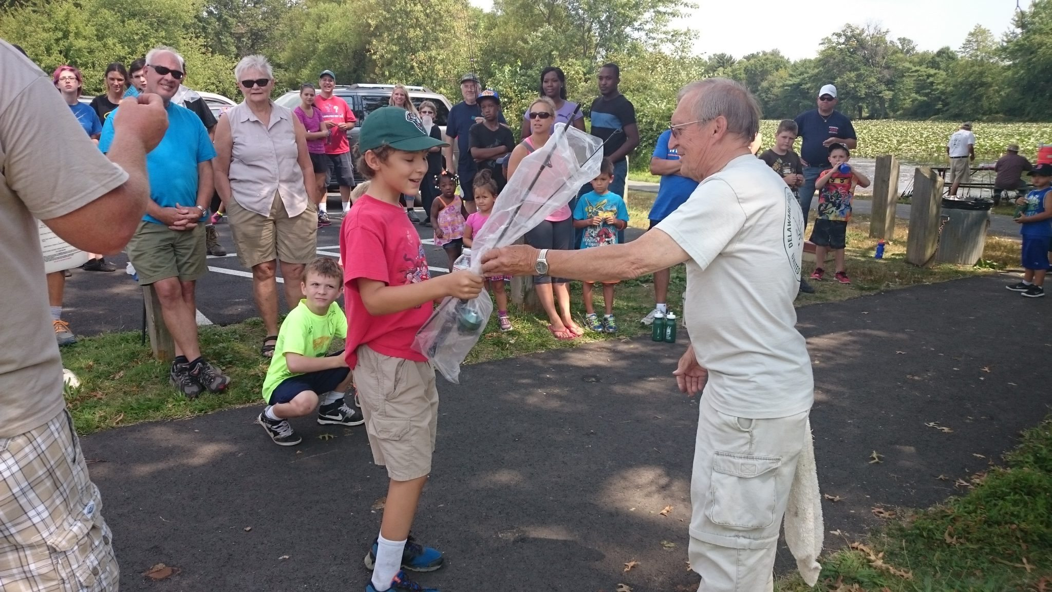 Silver Lake Nature Center Free Fishing Day Attracts More Than 100 Participants