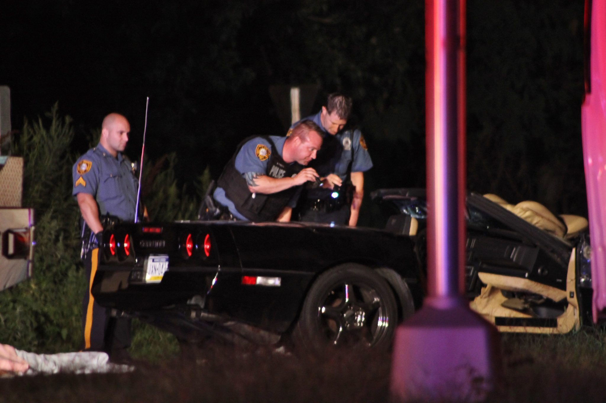 Levittown Corvette Driver Killed In Crash